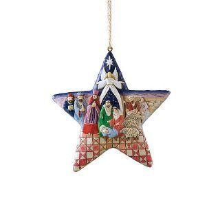Jim Shore Heartwood Creek Nativity Star with Nativity