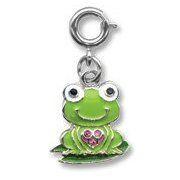 High Intencity Charm It Green Frog Charm