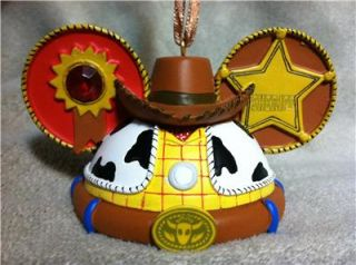 New Disney Parks Christmas Ornament Mickey Mouse Ears Hat Toy Story