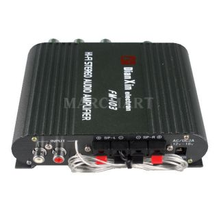 2pcs Mini High Power FM HiFi Audio Stereo Amplifier Amp for MP4 MP3