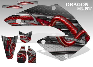 2005 2008 Honda CRF 450R Graphics Kit MX Decal Sticker Dragon Hunt