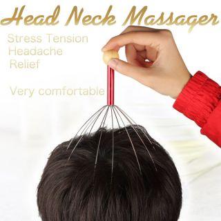head neck massager stress tension headache relief
