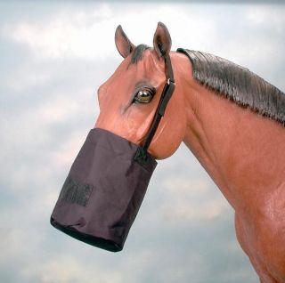 Tough 1 Hunter Green Cordura Feed Bag Horse Tack Equine