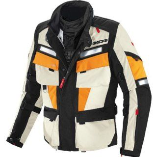Spidi Marathon H2Out Mens Textile On Road Motorcycle Jacket   Black