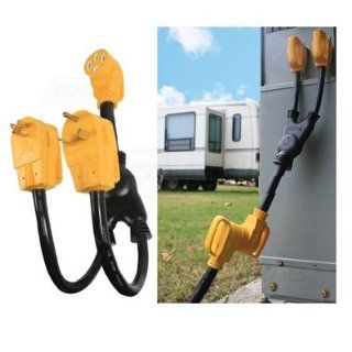 50 Amp RV Park Power Maximizer to 30 Amp and 15 Amp RV