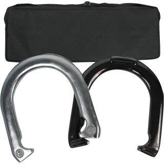 Horseshoe Game Set w Carrying Case Horse Shoes