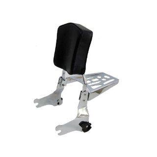 Harley Davidson 94 08 Detachable Touring Sissy Bar, Backrest Pad & 9