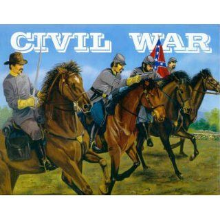 Confederate Cavalry Civil War Set 1/32 Imex: Toys & Games