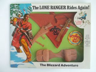 HUBLEY GABRIEL VINTAGE LONE RANGER THE BLIZZARD ADVENTURE ACCESSORY