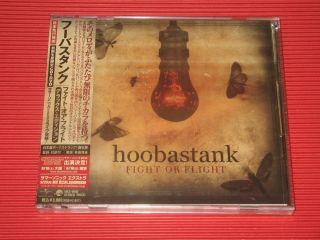 Hoobastank Fight or Flight Bonus Track Japan CD DVD Edition