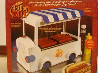 Hot Dog Truck Hot Dog Warmer Roller Cooker