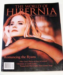 HIBERNIA Magazine WINTER 1997 MEG RYAN Back Issue IRELAND Irish