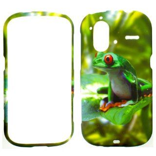 HTC AMAZE 4G WILD LIFE FROG HARD PROTECTOR SNAP ON COVER