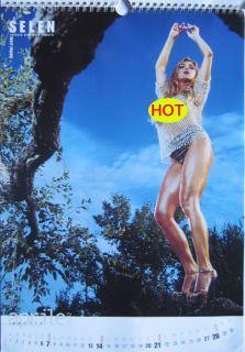 Calendar Sexy Selen Nude Calendario Okbook 2002 RARE