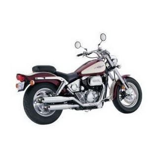 Vance Hines Exhaust Classic II Slip Ons Chrome Suzuki Intruder 1400