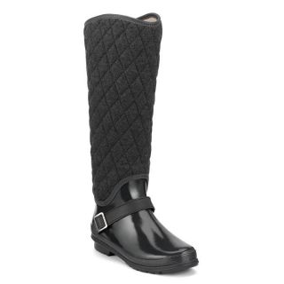 Sperry Top Sider Womens Hingham Charcoal Quilt Waterproof Boot
