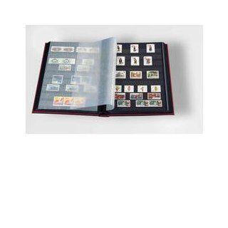 Stamp Album Stockbook by Lighthouse 32 Black Page Stamp