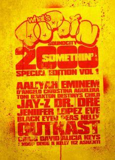 Classic Hip Hop Rap R B Pop Hits Videos DVD CD Combo Whats Poppin 2000
