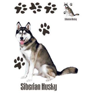 911 Siberian Husky Dog Heat Transfer T Shirt Iron On