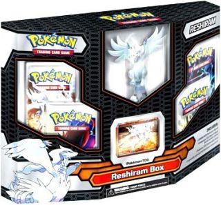 Black White Reshiram Box Emerging Powers Gift Set w Online Card