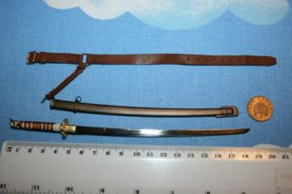 3R 1 6th Scale WW2 Japanese Sword Major Ito not Perfect