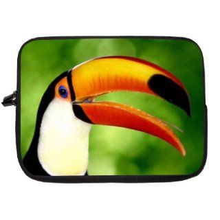 15 inch Macaw Design Laptop Sleeve   Note Book sleeve bag