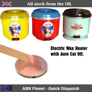 Beauty Salon Electric Wax Heater Pot Warmer Kit Hair Removal System