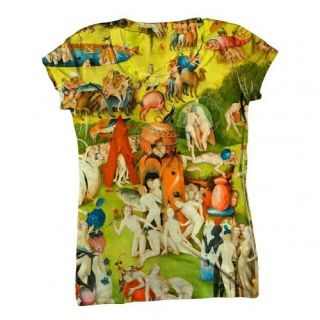 ArtsyClothingCo Womens Top Ladies T Shirt Hieronymus Bosch 005