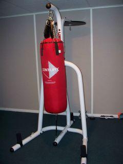 Century Heavy Bag Speed Bag Punching Bag Workout Hanging Platform