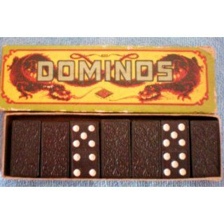 Vintage Dominos [Fire Breathing Dragons on Box]    28