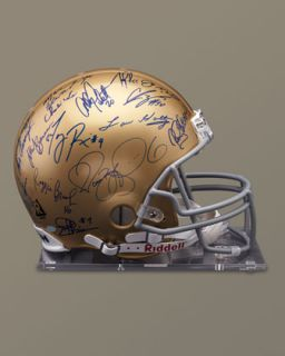 1N2S Steiner Sports Memorabilia Notre Dame Helmet