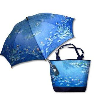 La Selva Design Decorative Umbrella and Matching Tote