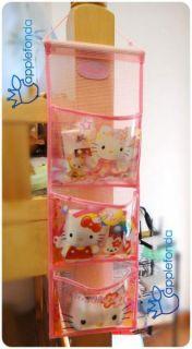 Wall Door Hanging Storage Bags Case Pocket Home Organization Kitty