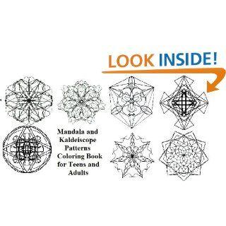 Mandala e modelli caleidoscopio libro da colorare per adulti e ragazzi