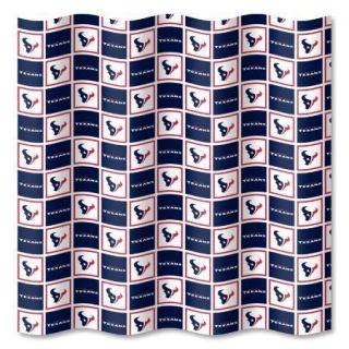 Houston Texans NFL Fabric Shower Curtain 72x72