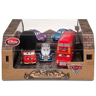 Store Pixar CARS 2 LONDON CALLING SGT HIGHGEAR TOPPER DECKINGTON QUEEN