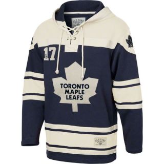 Toronto Maple Leafs Royal Old Time Hockey Lace Up Jersey Hooded