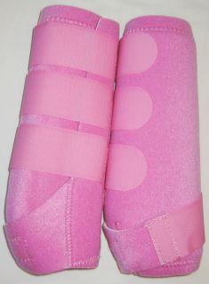Sport Medicine Boots Neoprine Horse Leg Wraps Medium Tack SMB