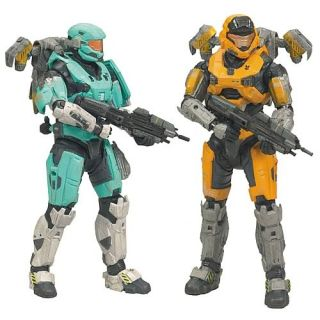 Halo Reach Series 2 UNSC Airborne Figures 2 Pack New