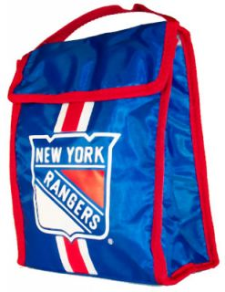 rangers nhl hockey velcro lunch bag box new york rangers nhl hockey