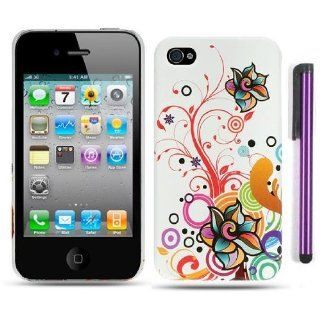 Apple Iphone 4, 4s Phone Protector Hard Cover Case Autumn