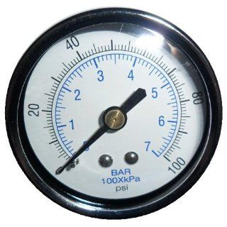 New Air Pressure Gauge for air compressor WOG water oil gas 2 Dial