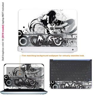 Protective Decal Skin Sticker for Dell Inspiron 1012 10.1