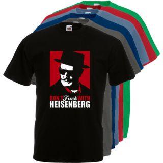 T289 Heisenberg R Breaking Bad Crystal Meth Drug Dealer s XXXL Cool T