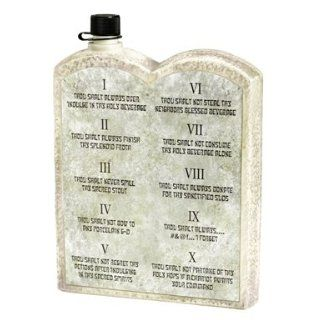 Ten Commandments of Party Flask Costume Accessory