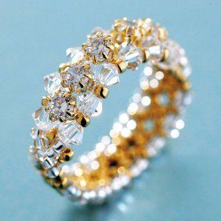 Create Your Own DIY Miyuki Glass Bead Ring Kit   Cubic