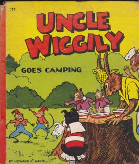 Uncle Wiggily Goes Camping by Howard R Garis Whitman 1940
