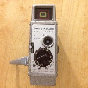 Vintage Bell Howell One Nine 8mm Movie Camera