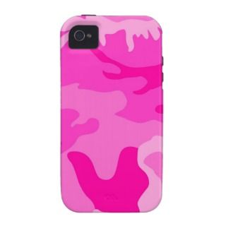 Camouflage Pink iPhone 4/4S Cover