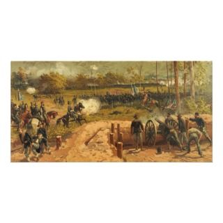 American Civil War Battle of Kennesaw Mountain Custom Photo Card